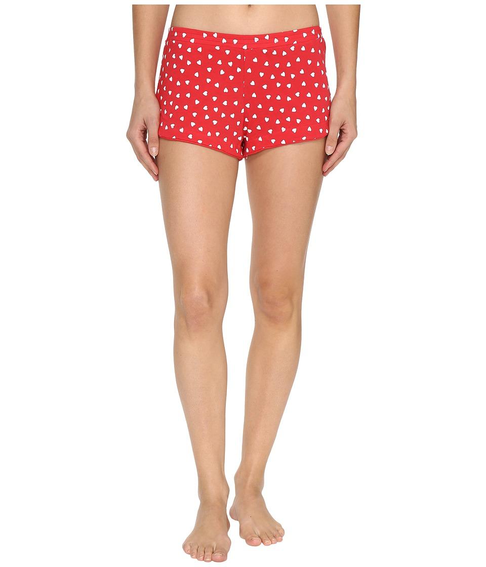 Only Hearts - Heritage Heart Supima Cotton Tulip Boxer (Rosehip/White) Women's Underwear