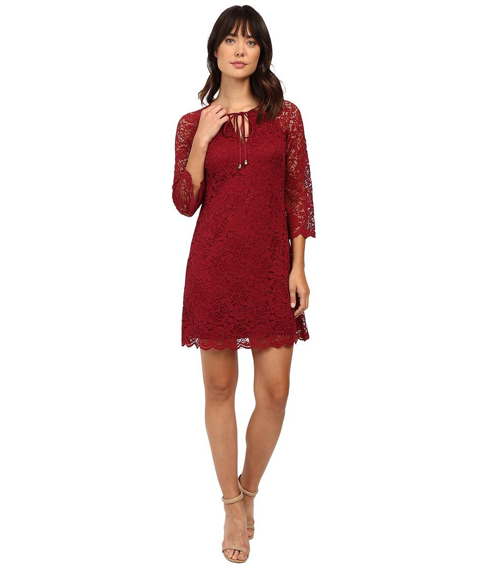 Jessica Simpson - Dress JS6D8745 (Cabernet) Women's Dress