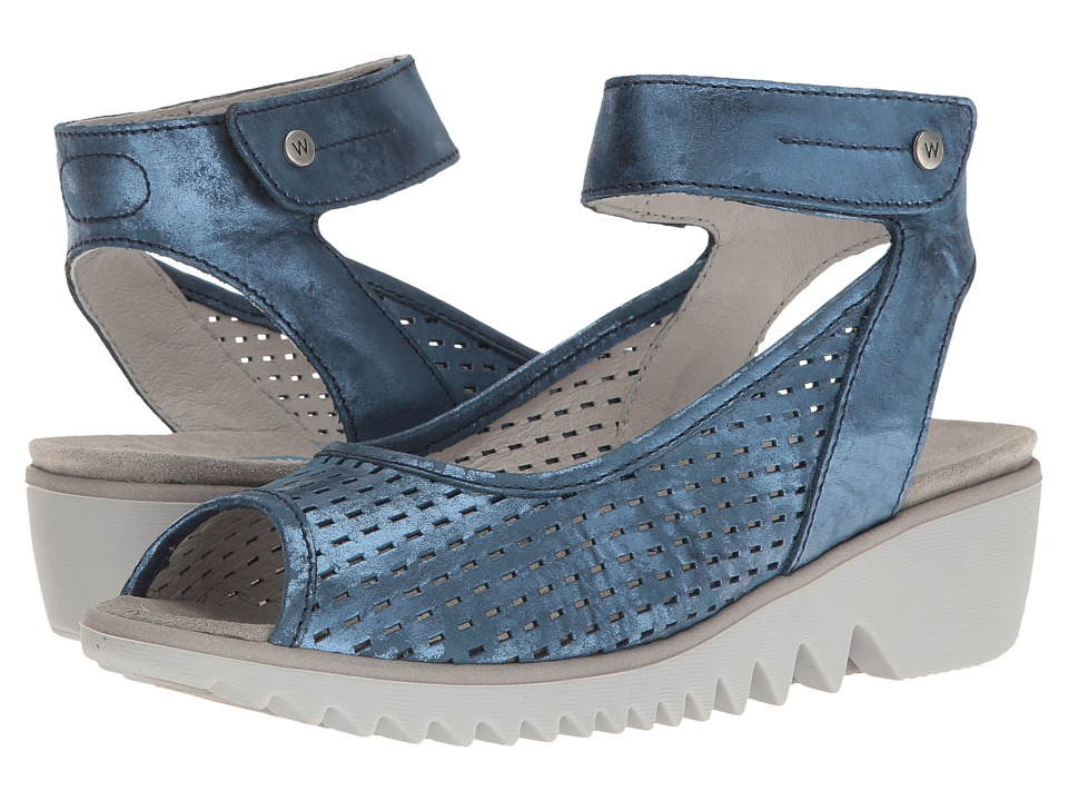 Wolky - Frosty (Blue) Women's Shoes