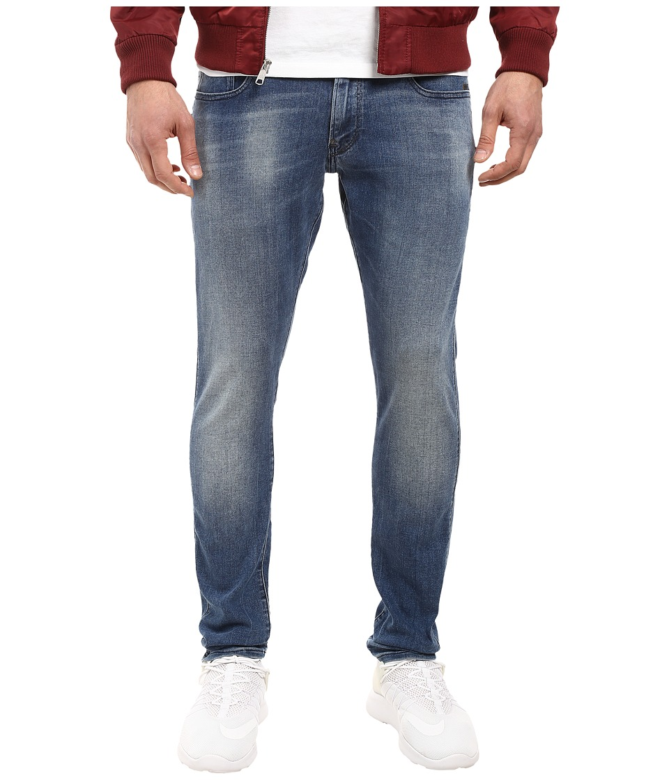 G-Star - Revend Super Slim in Slander Blue Superstretch Light Aged (Slander Blue Super Stretch Light Aged) Men's Jeans