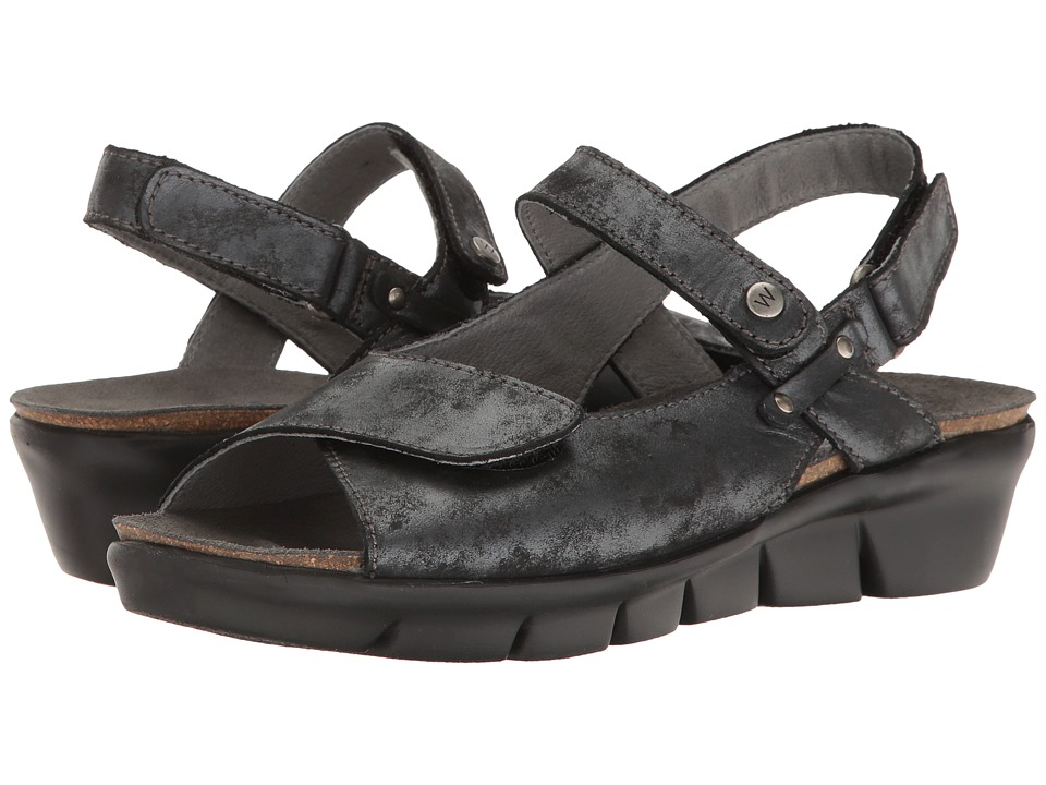 Wolky - Twinkle (Black 1) Women's Sandals