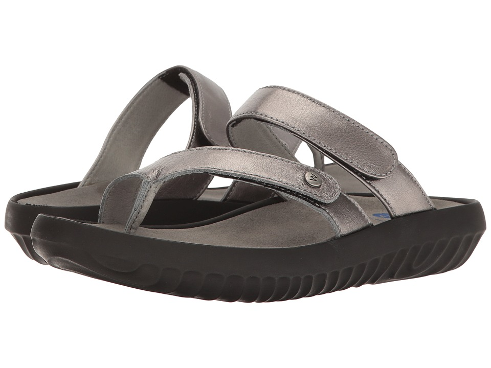 Wolky - Bali (Anthracite) Women's Sandals