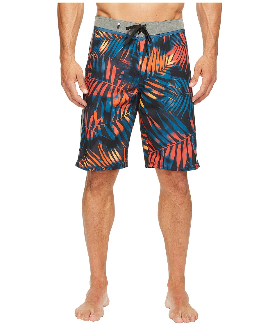 Quiksilver - Palm Shade 21 Boardshorts (Tarmac) Men's Swimwear