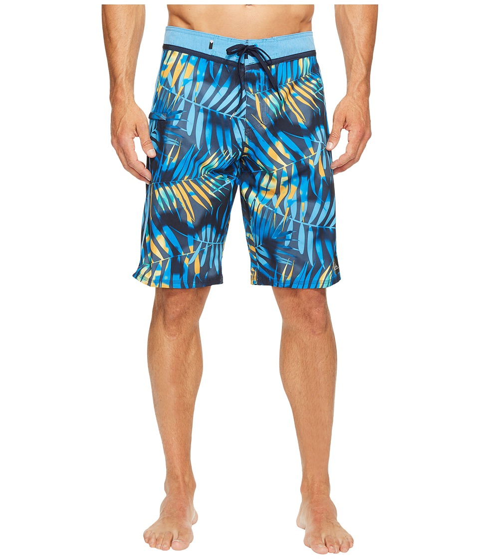 Quiksilver - Palm Shade 21 Boardshorts (Navy Blazer) Men's Swimwear
