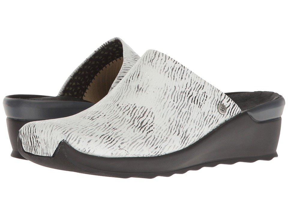 Wolky - Go (White/Black) Women's Sandals
