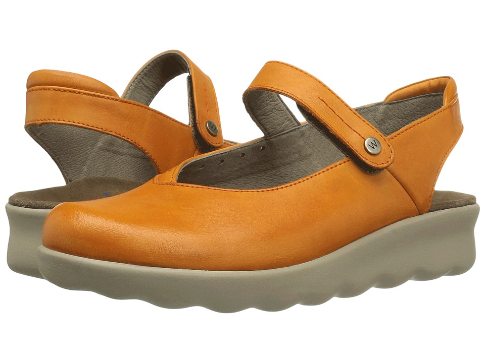 Wolky - Drio (Orange) Women's Shoes