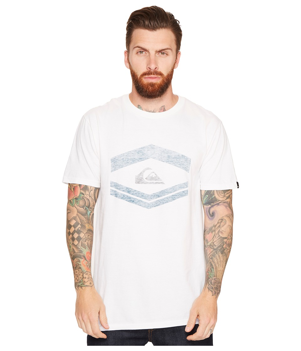 Quiksilver - Friendly Fire Tee (White) Men's T Shirt