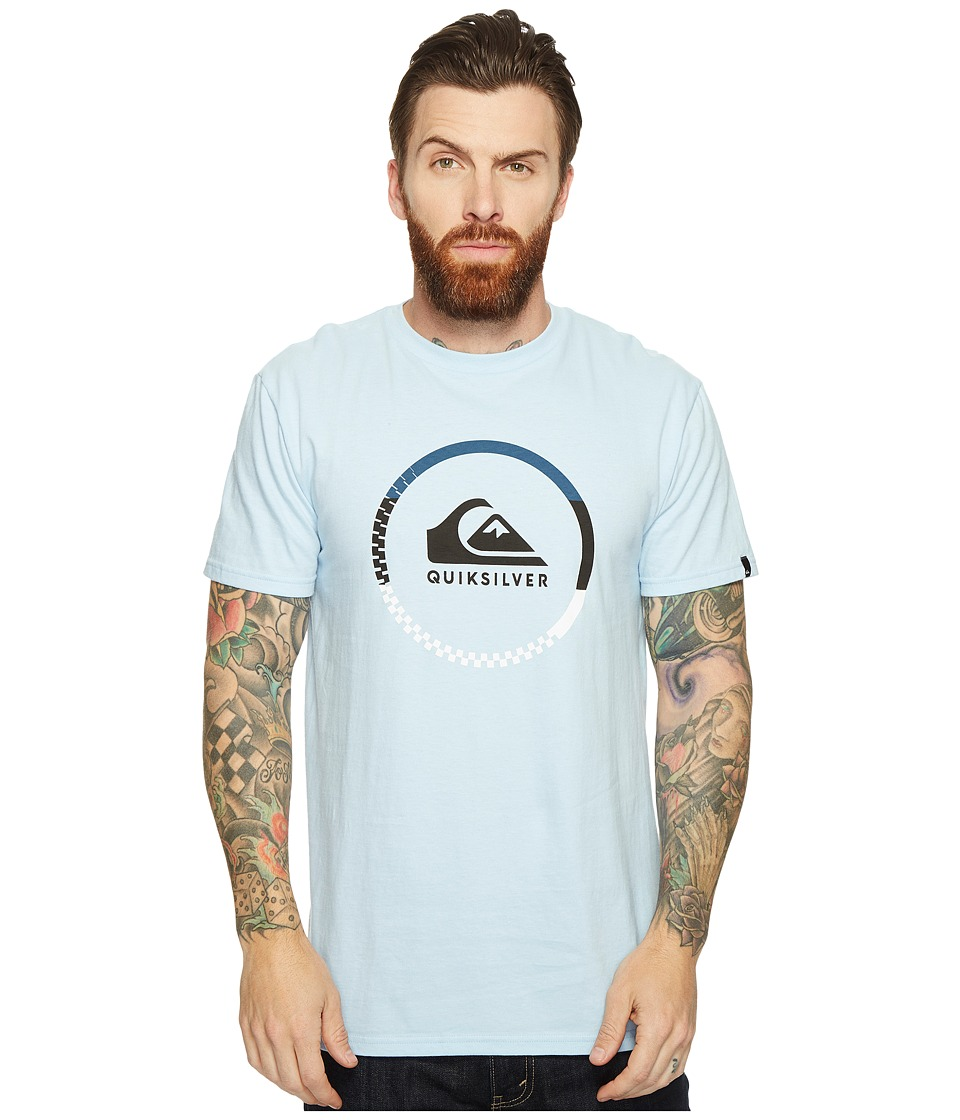 Quiksilver - Active Logo Blocked Tee (Angel Falls) Men's T Shirt