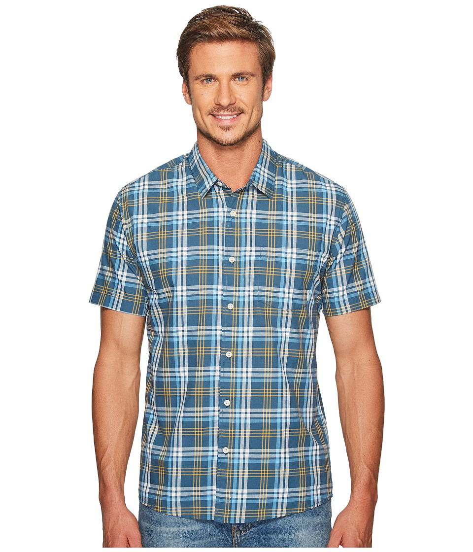 Quiksilver - Tidal Shift Woven (Indian Teal) Men's Clothing