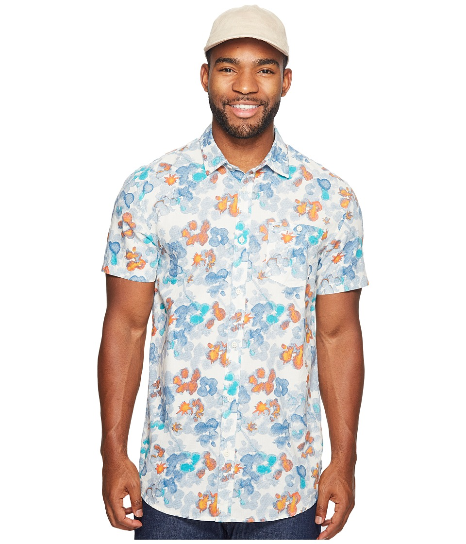 Quiksilver - Only Flowers Woven (Birch) Men's Clothing