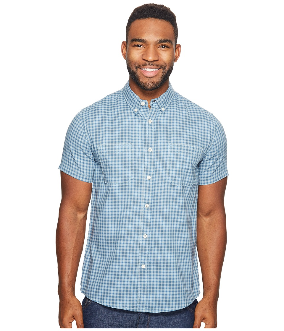 Quiksilver - Forte Night Woven (Indian Teal) Men's Clothing