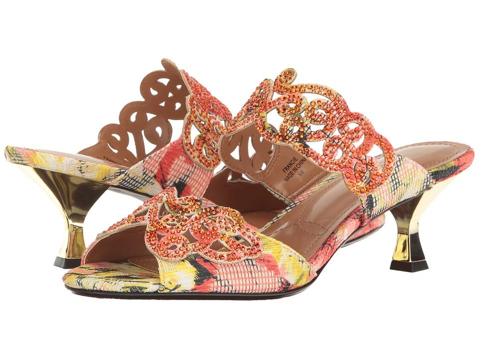 J. Renee Francie (Coral Multi) High Heels