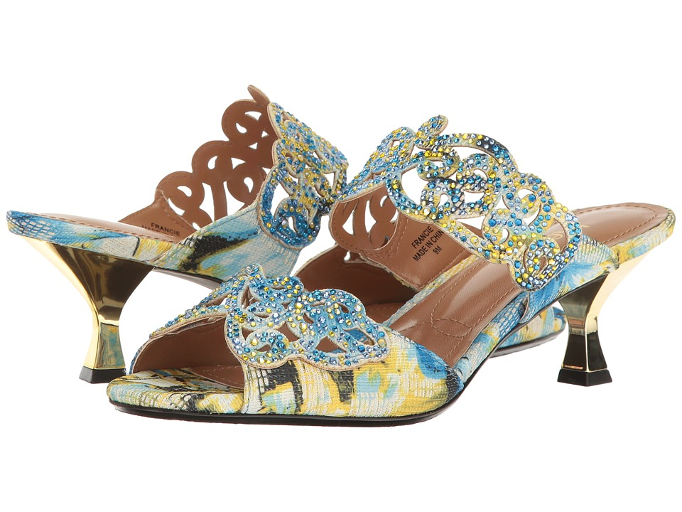 J. Renee - Francie (Blue Multi) High Heels