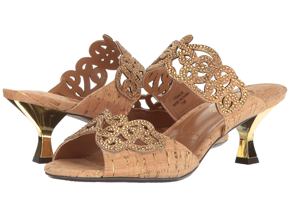J. Renee - Francie (Natural/Gold) High Heels
