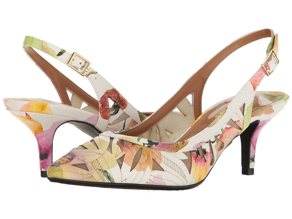 J. Renee - Galenia (Pastel Floral) Women's Shoes