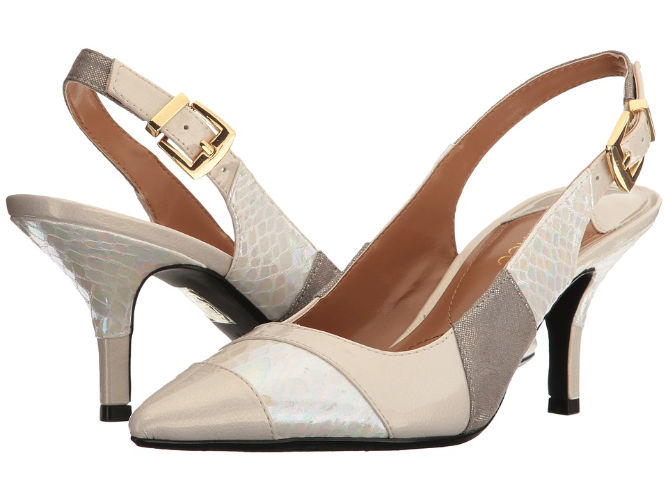 J. Renee - Laceyann (Iridescent Ivory) Women's Shoes