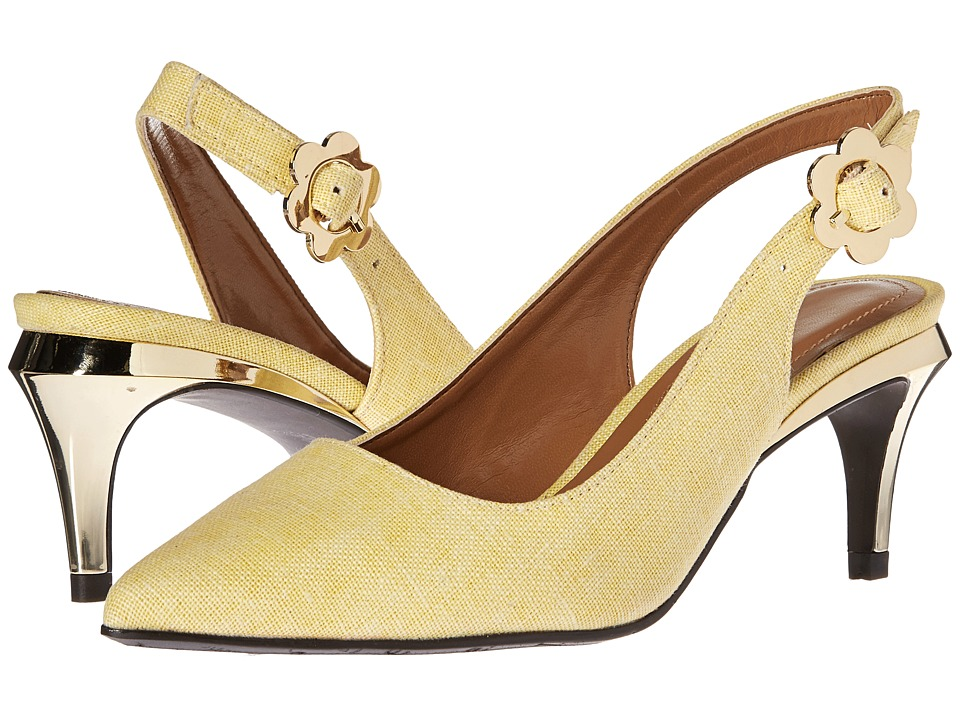 J. Renee Pearla (Yellow) High Heels