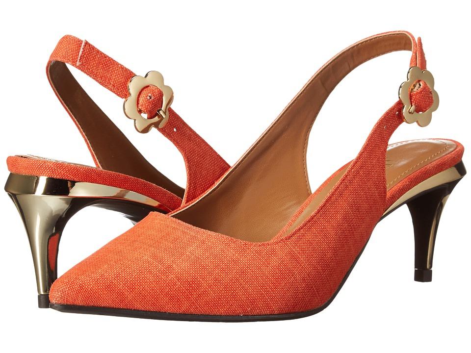 J. Renee - Pearla (Orange 2) High Heels