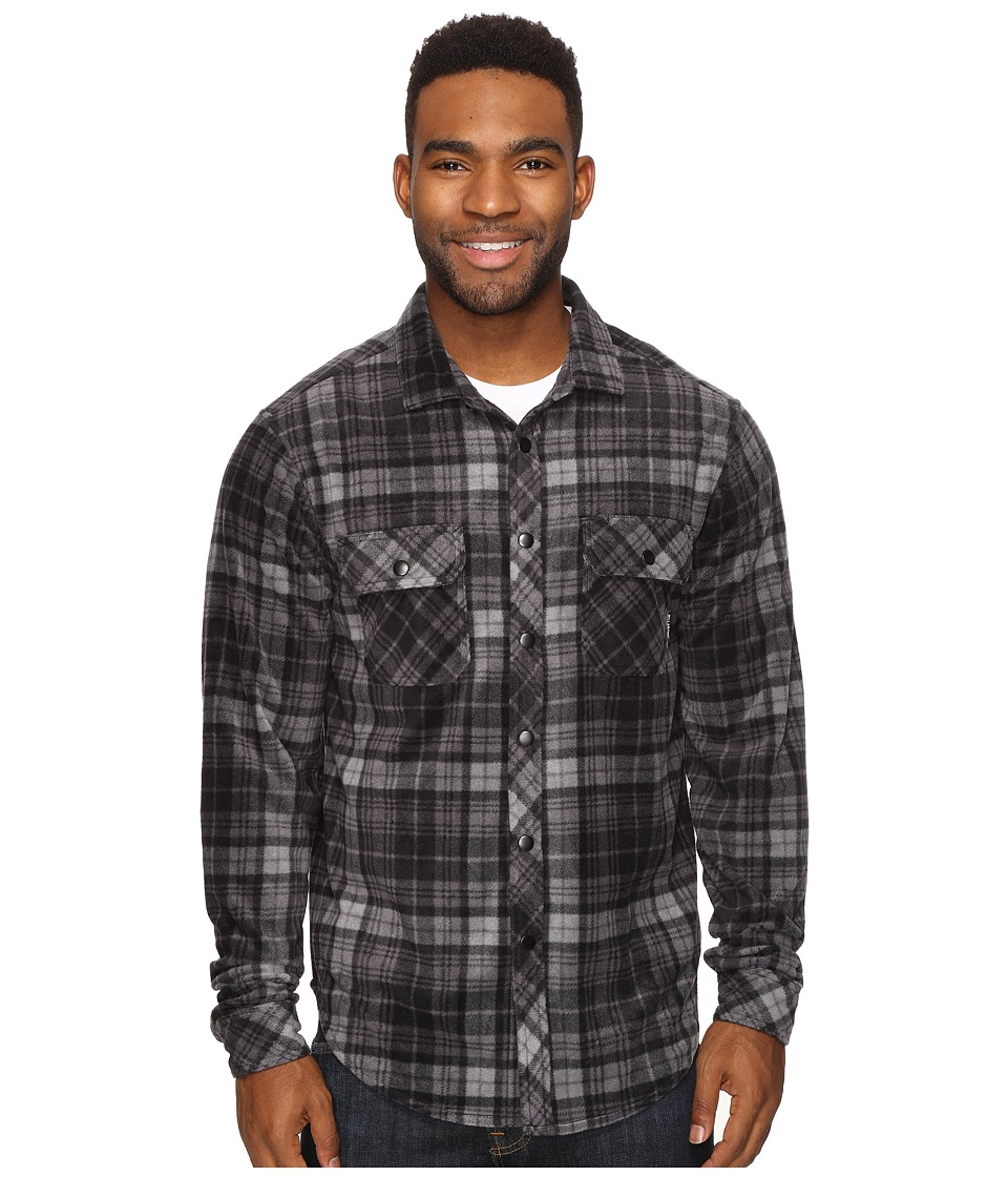 Billabong - Wind Chill (Black) Men's Long Sleeve Button Up