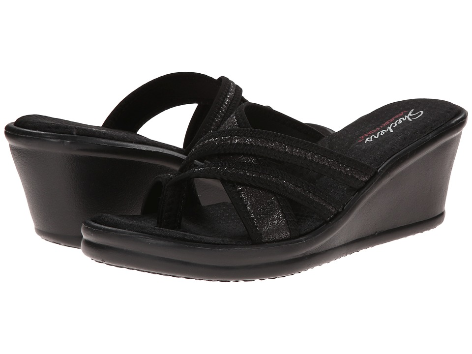 SKECHERS - Rumblers - Happy Dayz (Black) Women's Shoes