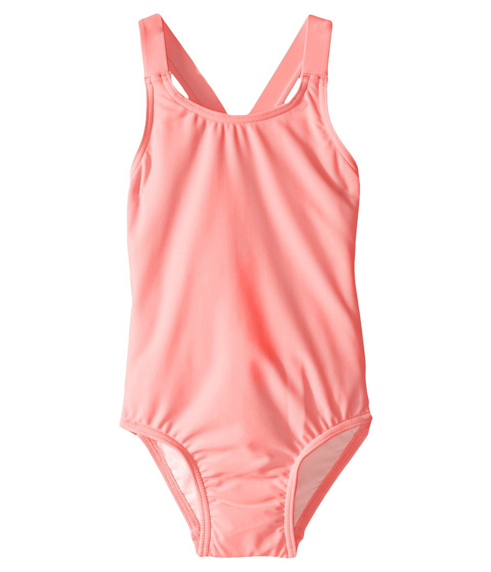 Seafolly Kids - Sweet Summer Tank Top (Infant/Toddler/Little Kids) (Coral Pink) Girl's Sleeveless