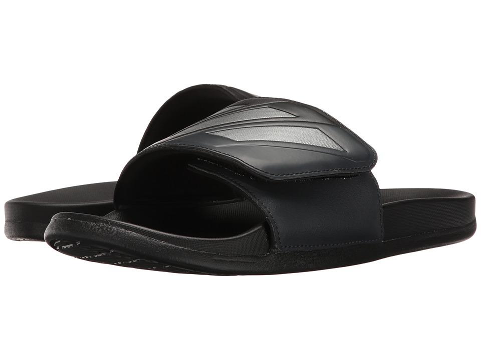adidas - Adilette CF+ Adjustable (Core Black/Night Metallic/Dark Grey) Men's Sandals