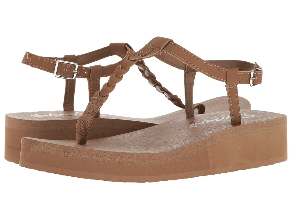 SKECHERS - Vinyasa - White Sands (Brown) Women's Shoes