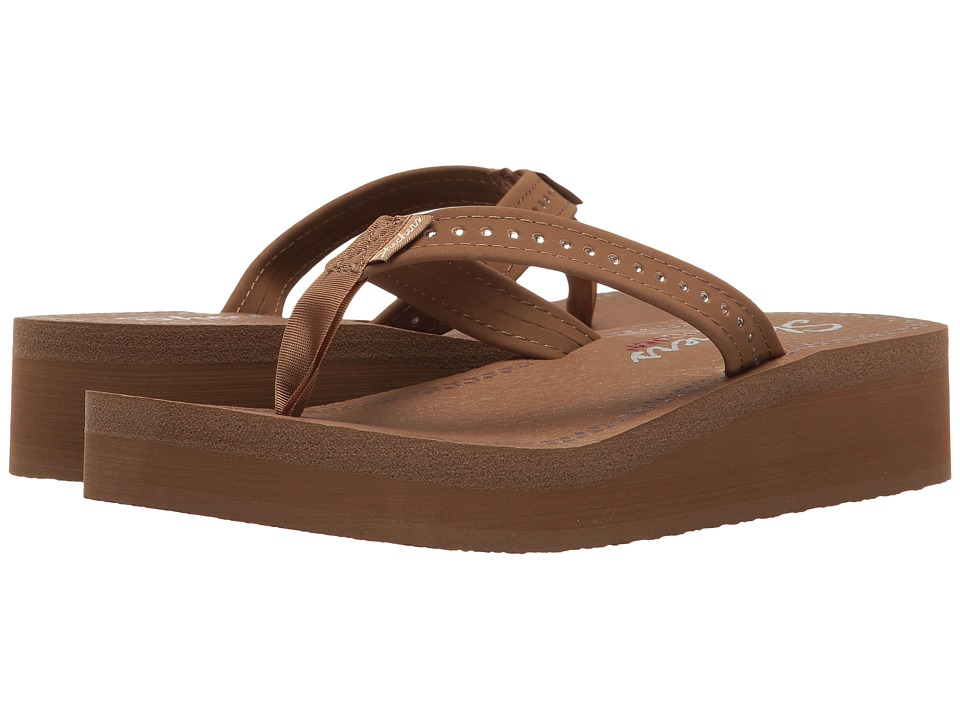 SKECHERS - Vinyasa - Paradise (Brown) Women's Shoes