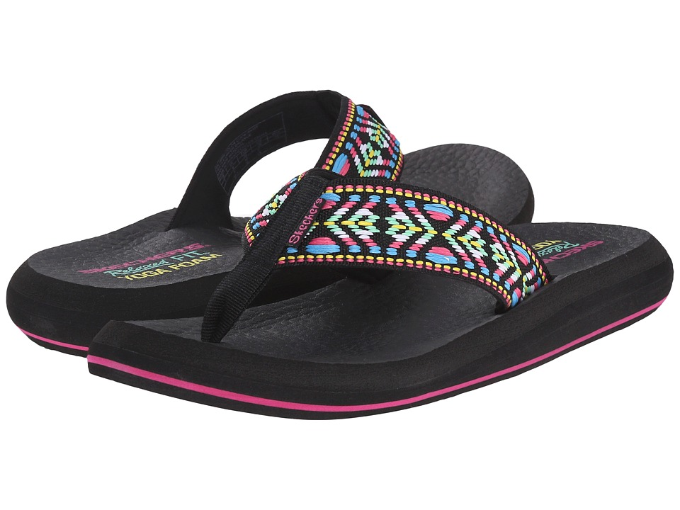 SKECHERS - Asana - Seek (Black/Multi) Women's Shoes