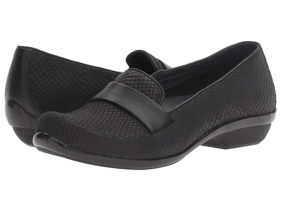 Dansko - Oksana (Black Snake) Women's Clog Shoes