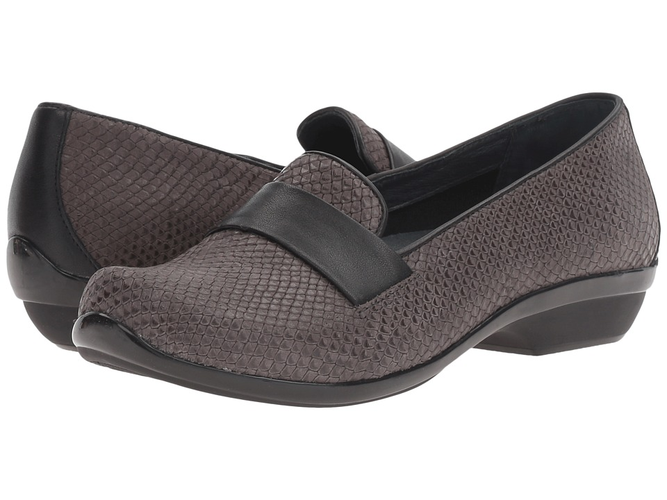 Dansko - Oksana (Grey Snake) Women's Clog Shoes