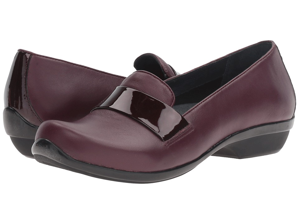 Dansko - Oksana (Wine Nappa) Women's Clog Shoes