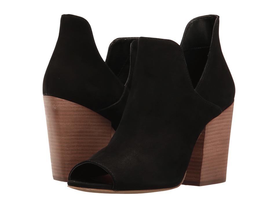 Steve Madden - Tristy (Black Nubuck) Women's Boots
