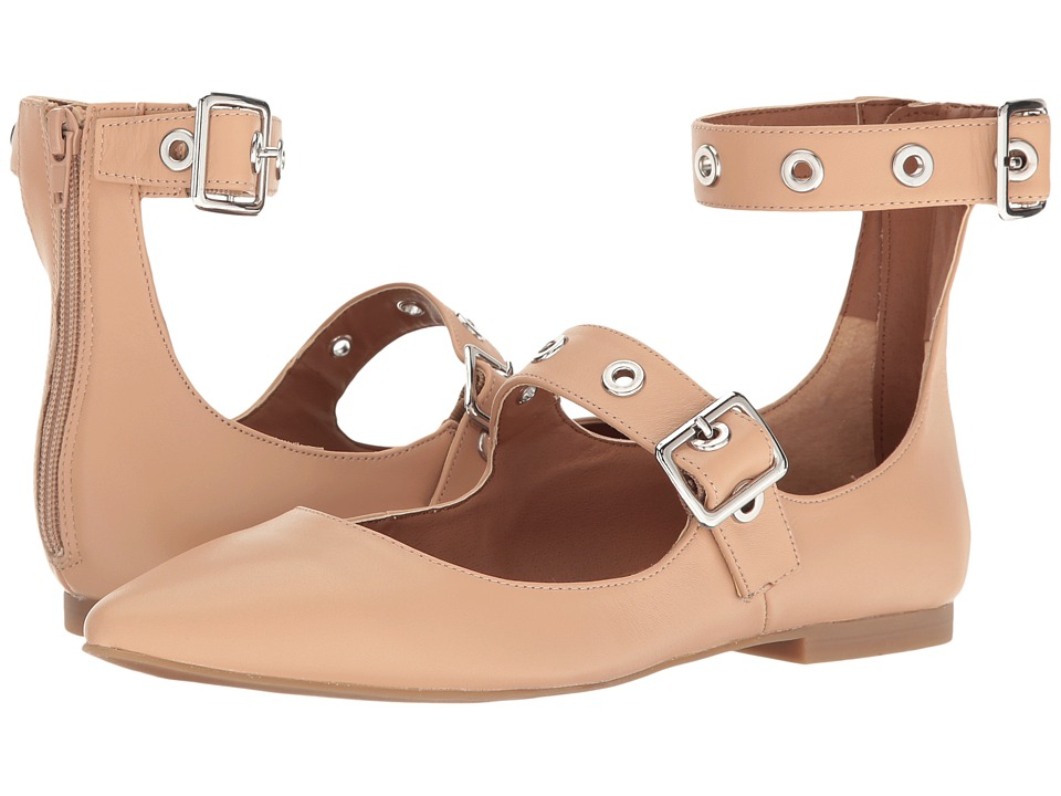 Steve Madden Iridessa Nude Leather Womens Shoes