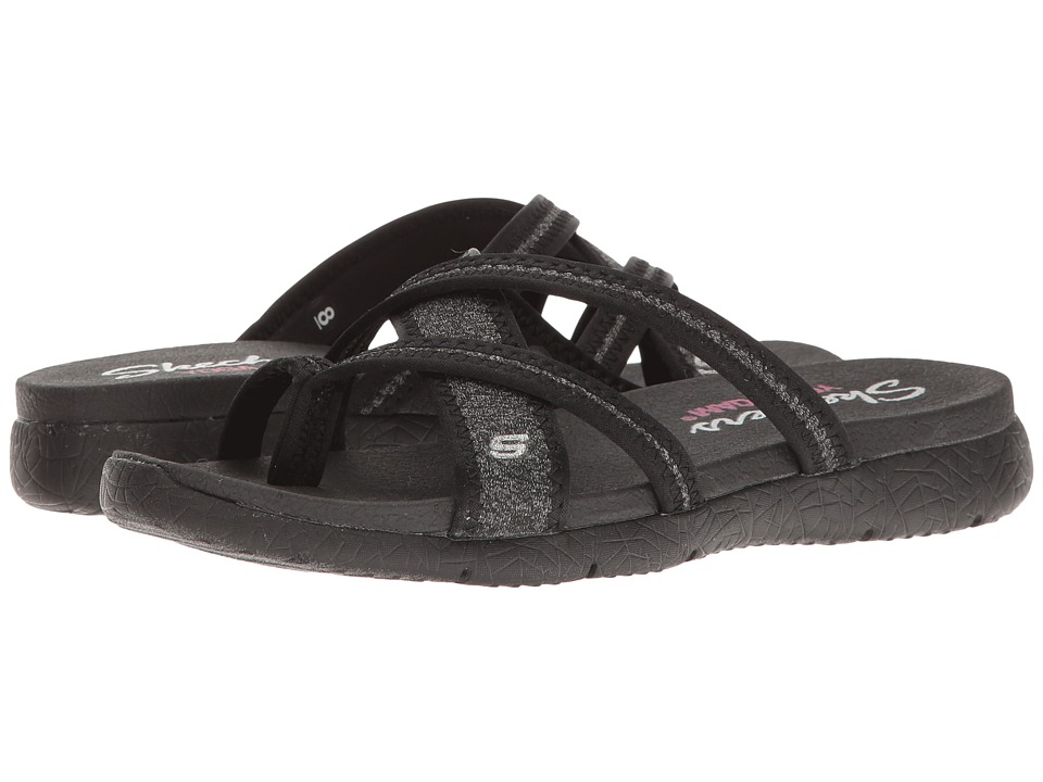SKECHERS - Microburst - Too Hot (Black) Women's Shoes