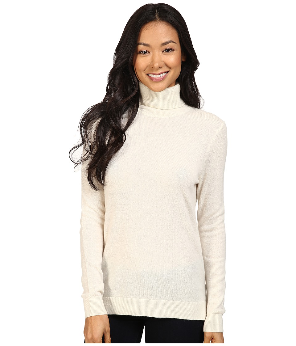 Pendleton - Petite Turtleneck (Ivory) Women's Clothing