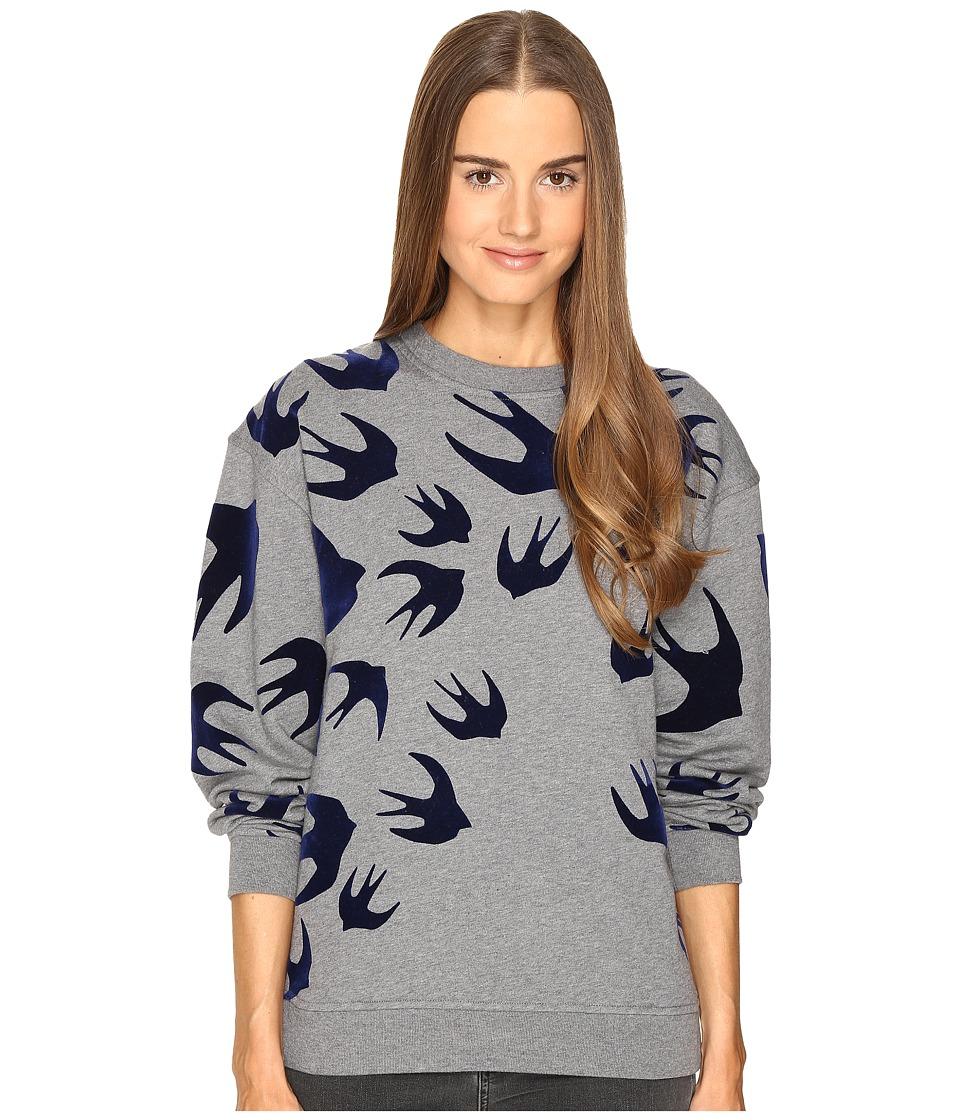 McQ - Classic Sweatshirt (Stone Melange) Women's Sweatshirt