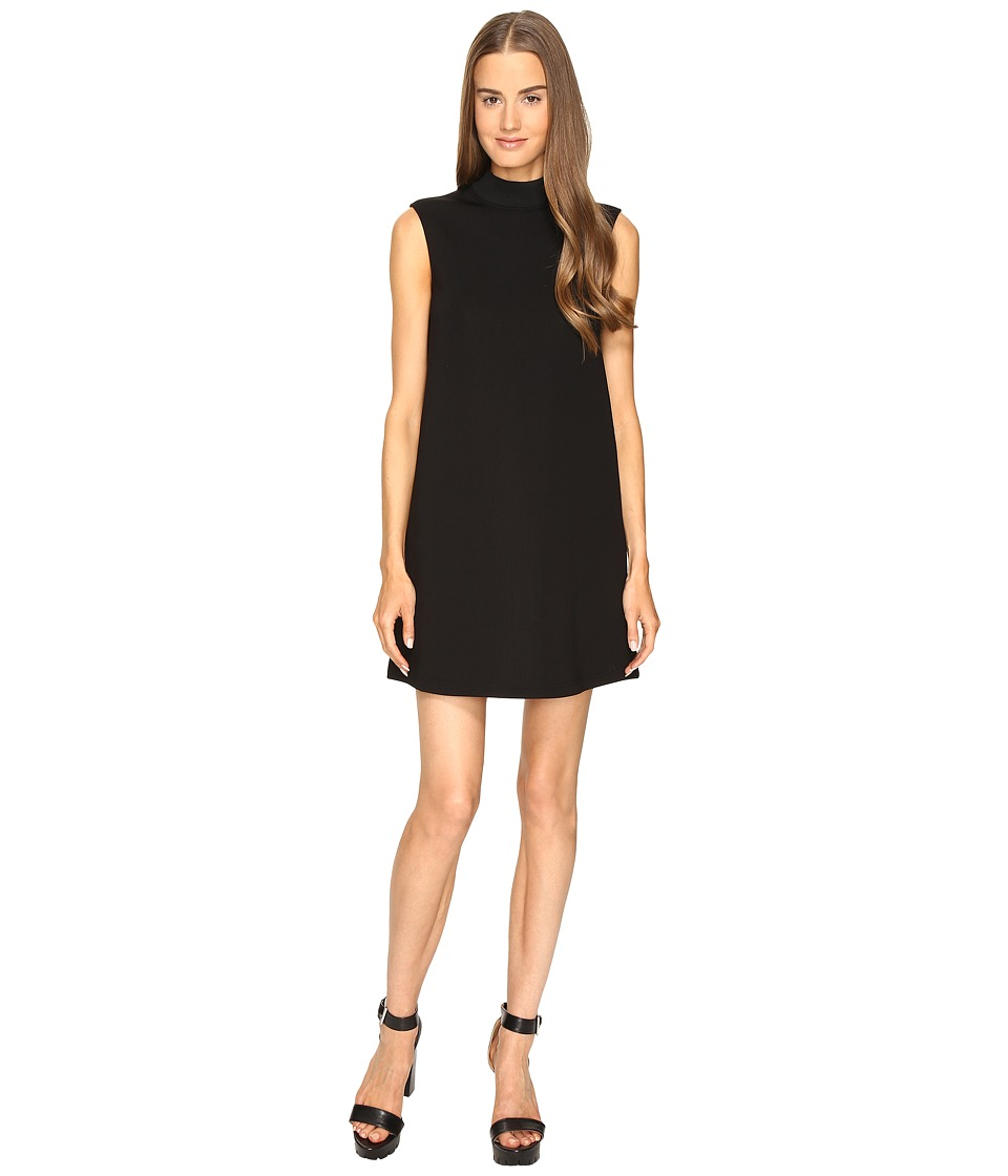 McQ - High Neck Dress (Darkest Black) Women's Dress