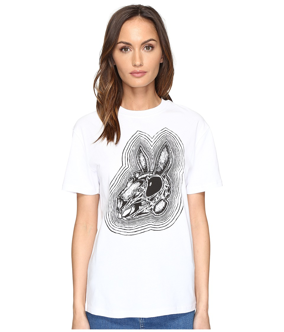 McQ - Classic T-Shirt (Optic White) Women's Short Sleeve Pullover