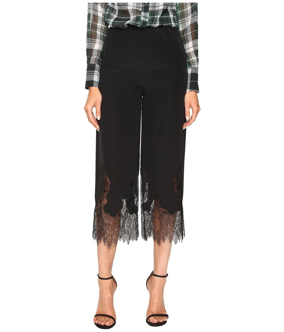McQ - Fluid Cropped Pants (Black) Women's Casual Pants