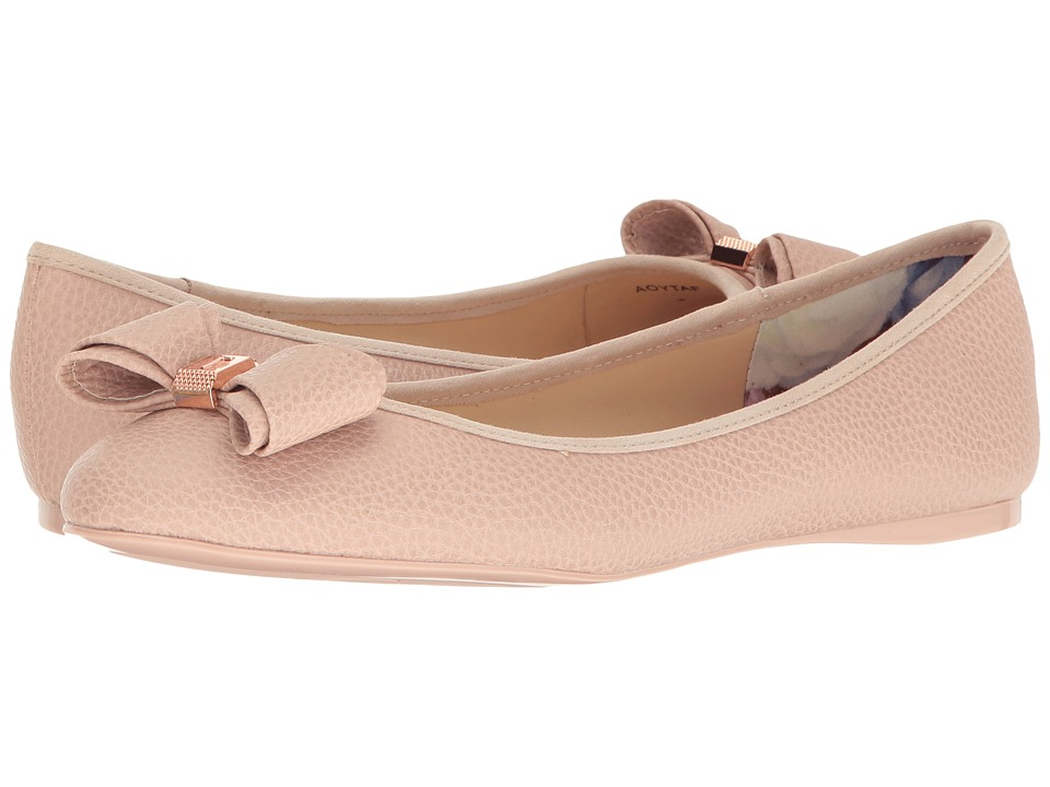 Ted Baker - Immet (Light Pink Pu Tumble) Women's Slip on Shoes