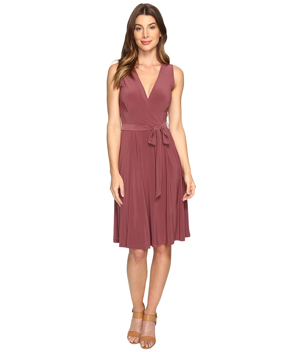 B Collection by Bobeau - Addie Wrap Dress (Berry) Women's Dress