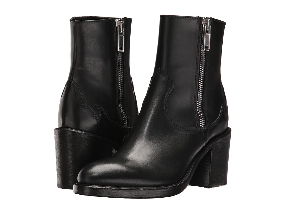McQ - Clapton Zip Boot (Black) Women's Boots