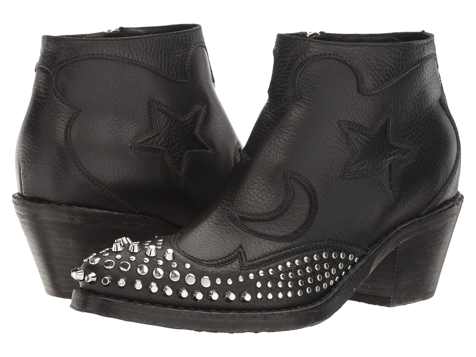 McQ Solstice Zip Boot (Black) Women