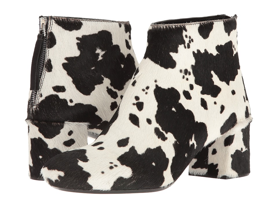 McQ - Pembury Boot (Black/White) Women's Boots