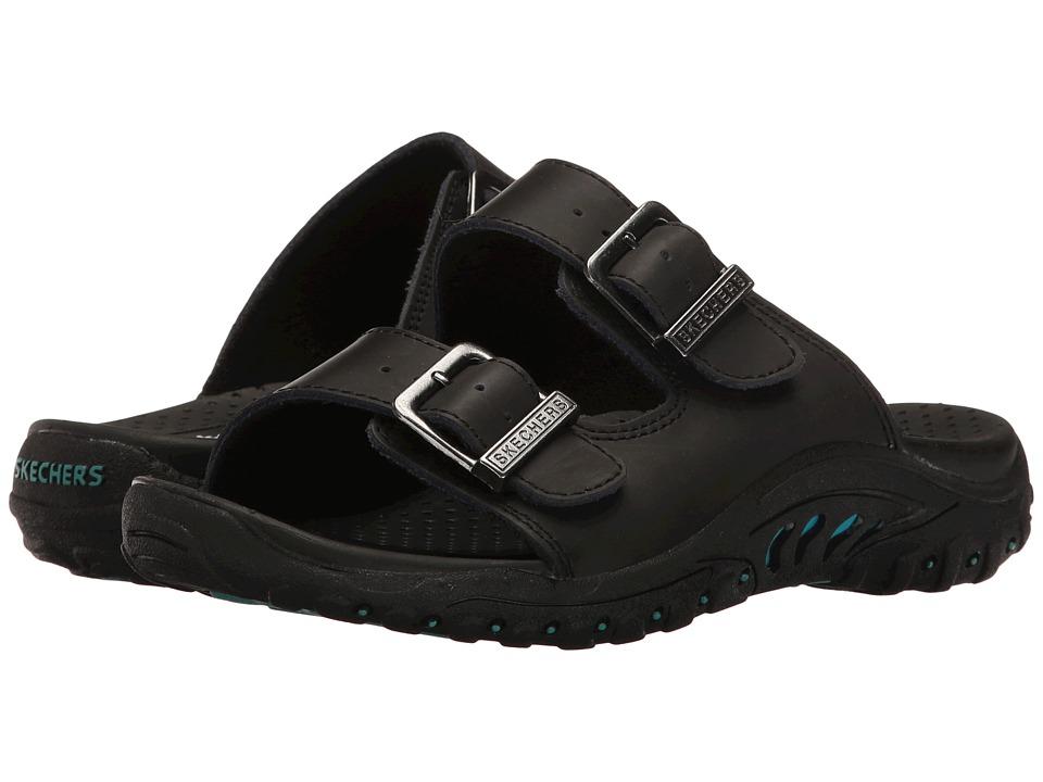 SKECHERS - Reggae - Jammin' (Black/Black) Women's Shoes