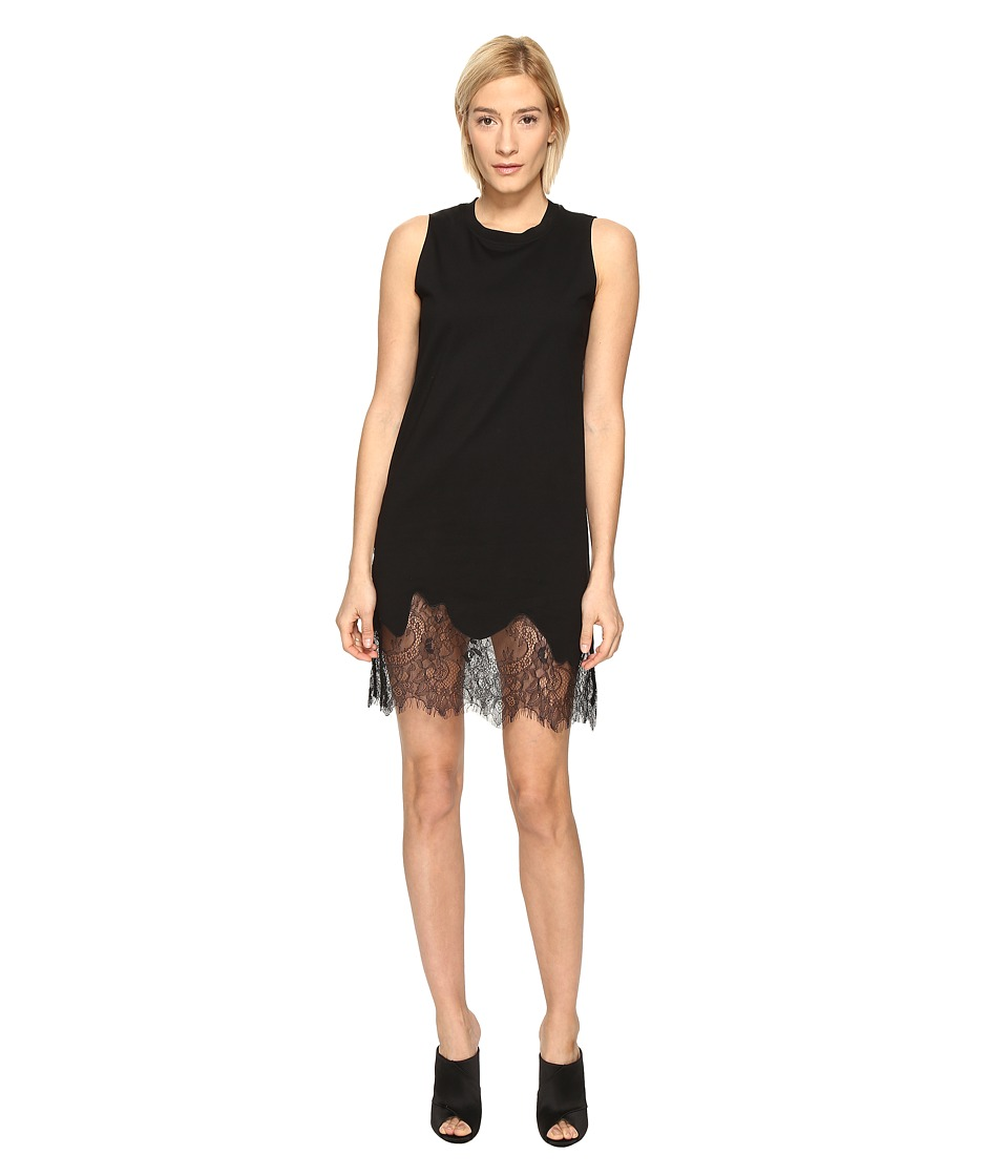 McQ - Lace Trim Tank Dress (1000) Women's Dress