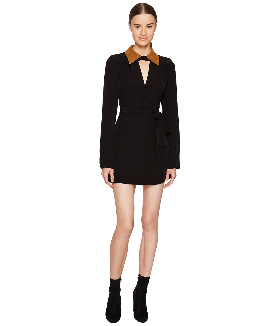 McQ - Collar Dress (Black) Women's Dress
