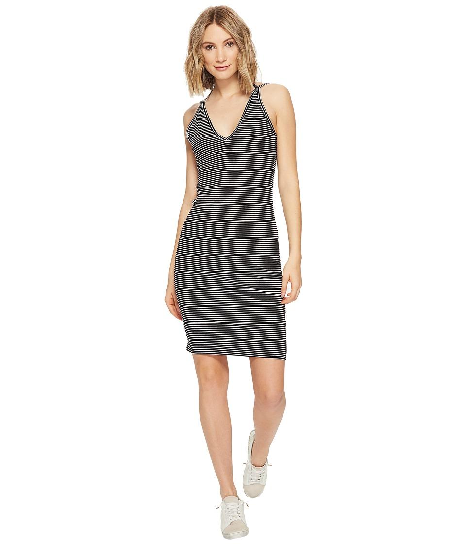 Project Social T - Birdie Dress (Black/White) Women's Dress