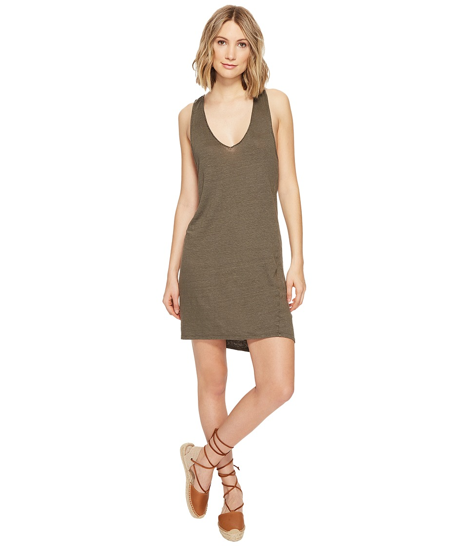 Project Social T - Quiet Forest Dress (Loden) Women's Dress
